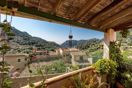 Einmaliger Landschaftsblick vom Balkon