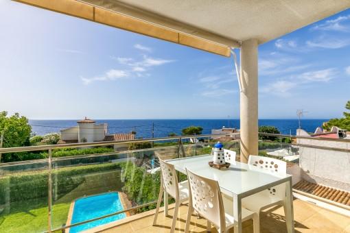 Ferienwohnung direkt an der Bucht von Cala Pi