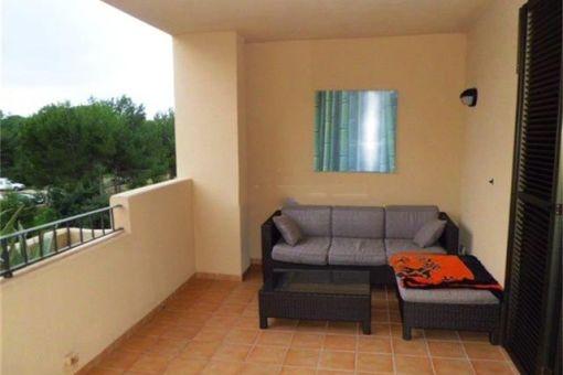Apartment in ruhiger Anlage mit Tennisplatz und Pool