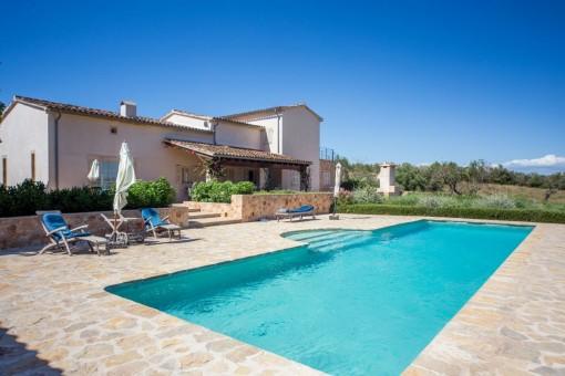 Charmantes Anwesen mit traumhaftem Weitblick für Mallorca-Liebhaber