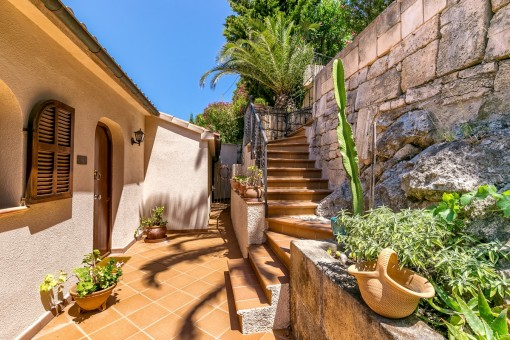 Zugang auf die Terrasse