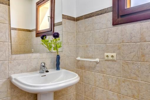 Details eines Badezimmers