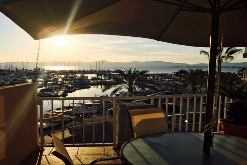 Penthouse in erster Meereslinie am Club Nautico in S´Arenal