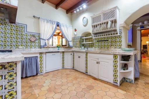 Küche des Haupthauses