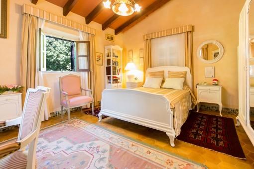 Freundliches Schlafzimmer