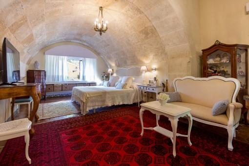 Majestätisches Hauptschlafzimmer
