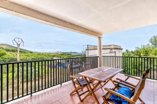 Schönes Einfamilienhaus mit Meerblick Font de Sa Cala