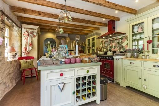 Beeindruckende Küche mit Kochinsel