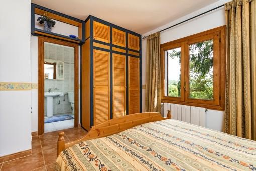Doppelschlafzimmer mit Badezimmer en Suite
