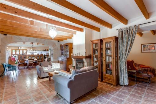 Alternative Ansicht vom <Wohnbereich mit couch