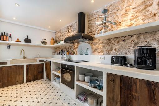 Wundervolle, rustikale Küche