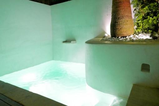 Wundervoller Pool, die perfekte Abkühlung an heißen Sommertagen