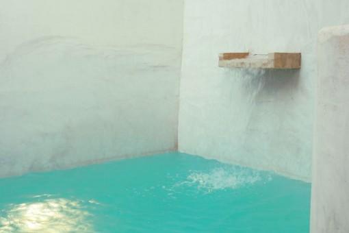 Pool in dem charmanten Innenhof