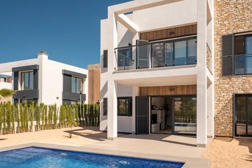 Moderne Erstbezugswohnung in toller Wohnanlage in Cala Murada
