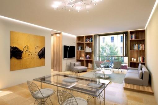 Hochwertiges Apartment im Zentrum von Palma
