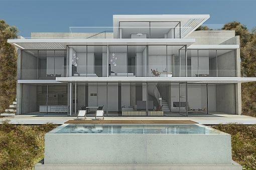 Neubau-Villa mit Meerblick in Puerto de Andratx