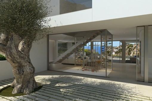 Eingangsbereich der Immobilie