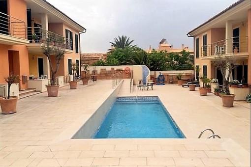 Schöne Wohnung mit Gemeinschaftspool in Colonia Sant Pere