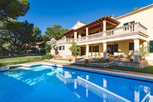 Mallorquinische Villa in einer sehr begehrten Wohngegend in Costa d'en Blanes