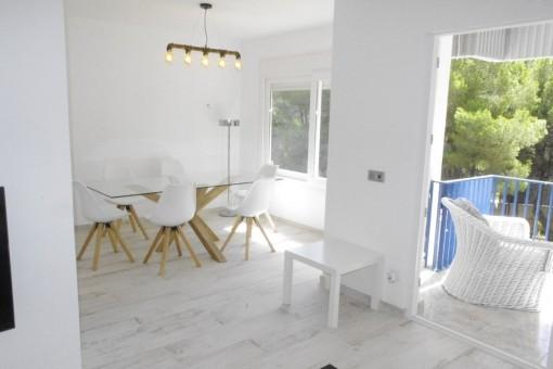 Helle, moderne Wohnung in Sol de Mallorca