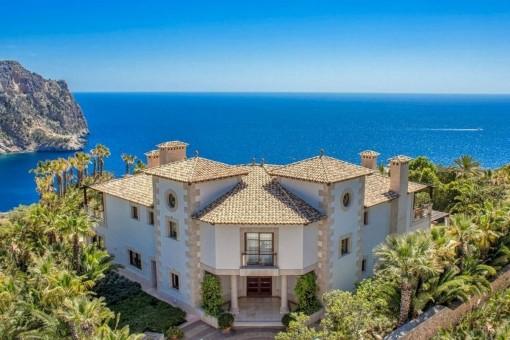 Herrschaftliches Anwesen über den Dächern von Puerto de Andratx