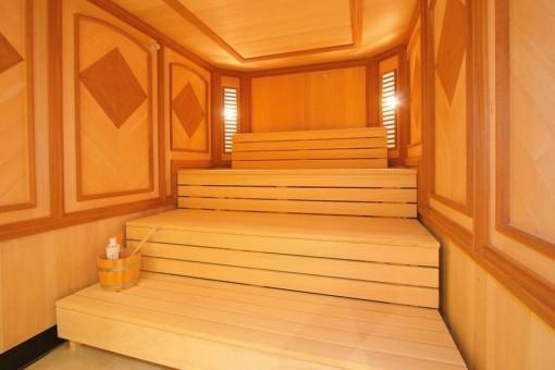 Charmante Sauna