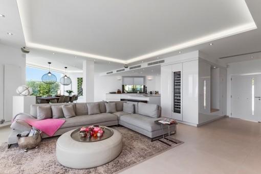 Großer, offen gestalteter Wohnbereich