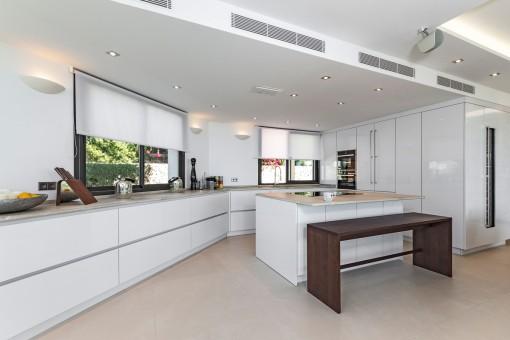Moderne Designerküche