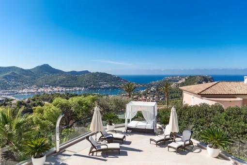 Exklusive Villa mit allen Annehmlichkeiten in Puerto de Andratx