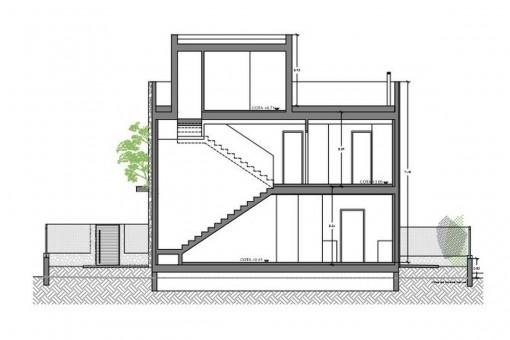 Plan der Stockwerke