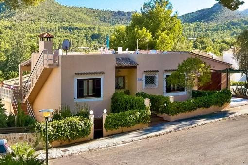 Großes Einfamilienhaus in Font de Sa Cala