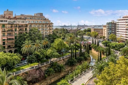 Wohnung in Palma de Mallorca Altstadt zur Langzeitmiete