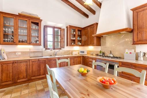 Wundervolle Landhausküche