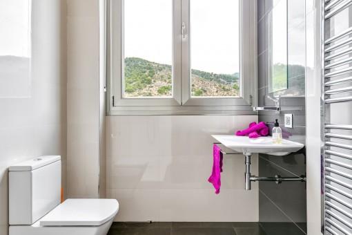 Toilette für Gäste
