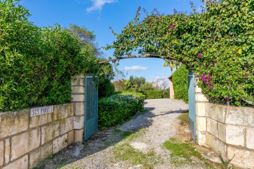 Zugang zum Anwesen