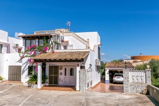 Liebevoll gepflegtes Einfamilienhaus in Porto Colom