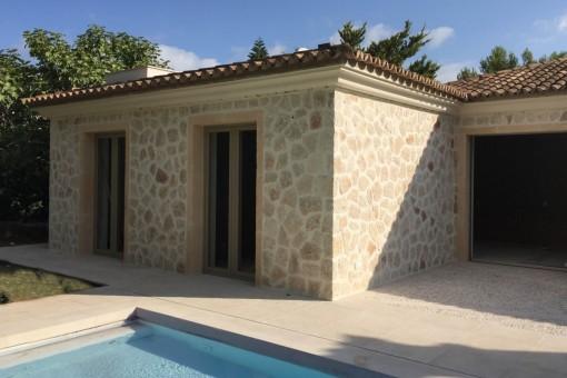 Komfortable, ebenerdige Luxusvilla in Santa Ponsa