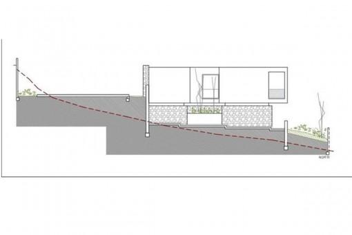 Plan der Immobilie