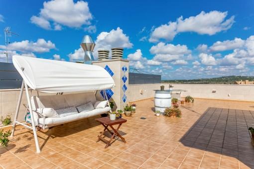 Neuwertige Wohnung in Santanyi mit Traumblick
