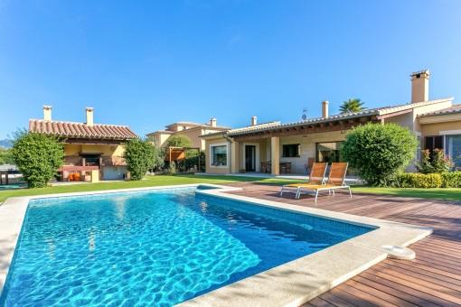 Moderne Villa mit 4 Schlafzimmern und Pool in Marratxi / Sa Planera