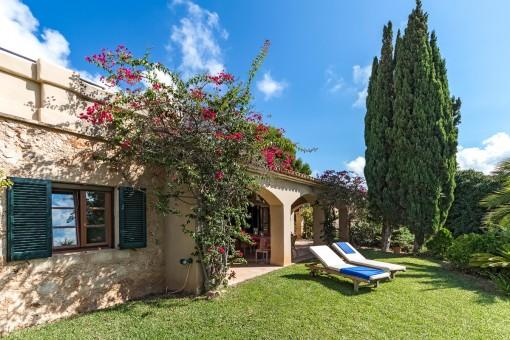 Wunderschönes mediterranes Haus in begehrtester Lage in Nova Santa Ponsa