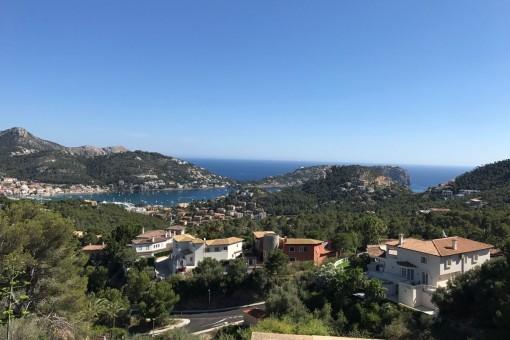 Wundervoller Panoramablick