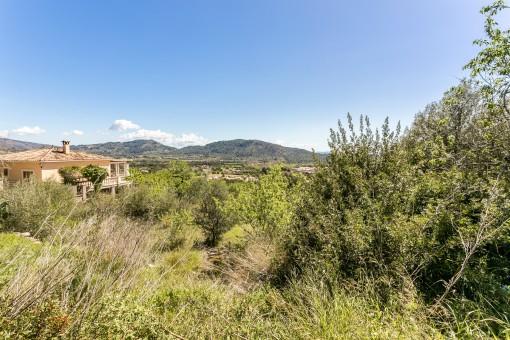 Baugrundstück mit herrlichem Weitblick für Einfamilienhaus mit Pool in Alaró