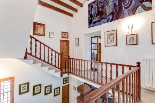 Das Herrenhaus ist ideal für Liebhaber der mallorquinischen Architektur