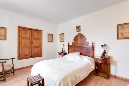 Traditionelles Doppelschlafzimmer