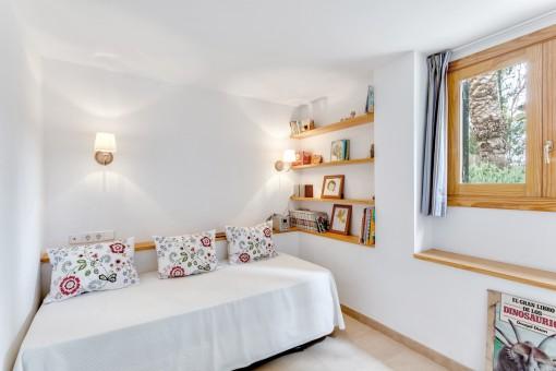 Alle Schlafzimmer strahlen eine angenehme Atmosphäre aus
