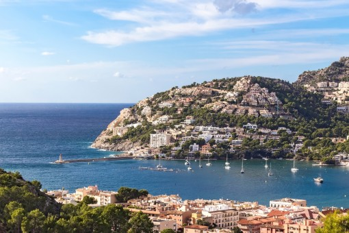 Atemberaubender Blick auf das Mittelmeer