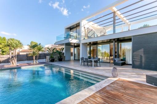Luxuriöse Villa mit Meerblick in Bonaire