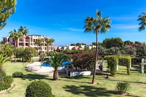 Schöne Duplexwohnung in einer luxuriösen Wohnanlage in Nova Santa Ponsa