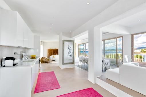 Luxuspenthouse in Santa Ponsa mit traumhaften Meerblick